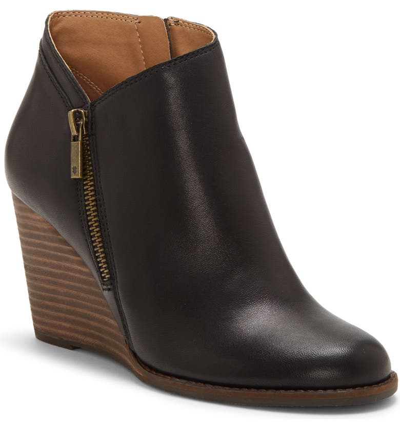 LUCKY BRAND Yewani Bootie, Main, color, 001
