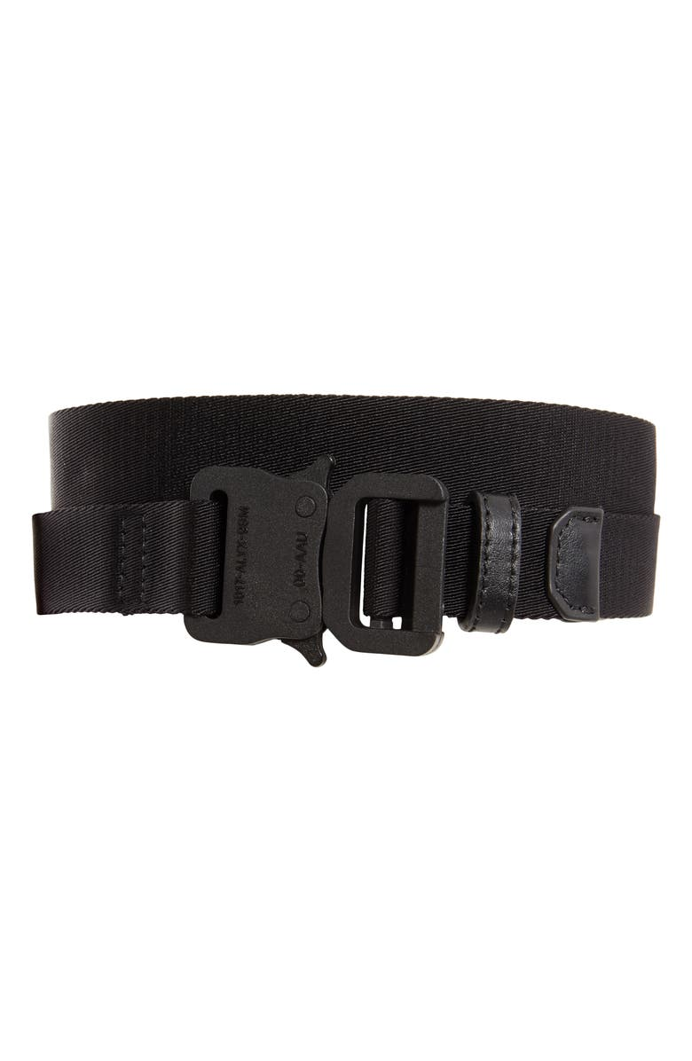 1017 ALYX 9SM Nylon Web Belt, Main, color, 001