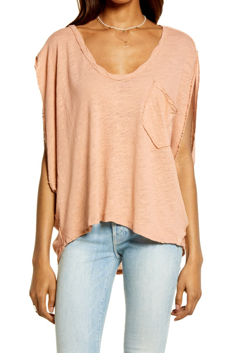 FREE PEOPLE Feelin' It Oversize T-Shirt, Main, color, THORNS