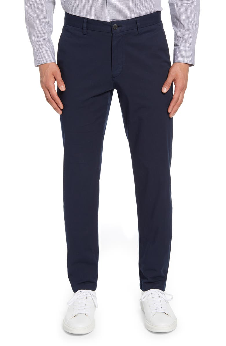 THEORY Zaine Slim Fit Twill Chinos, Main, color, 498