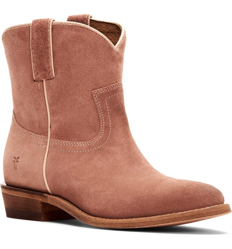 FRYE Billy Bootie, Main, color, LIGHT ROSE SUEDE