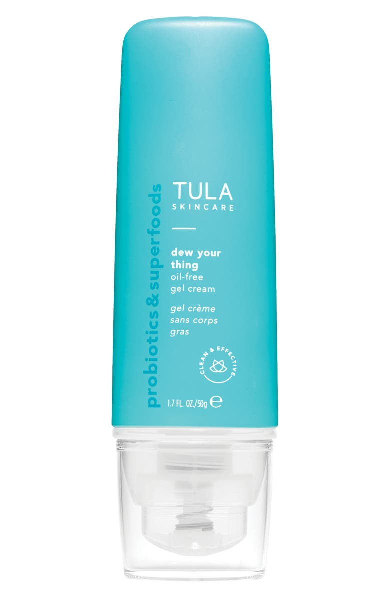 TULA SKINCARE Dew Your Thing Oil-Free Gel Cream Moisturizer, Main, color, No Color