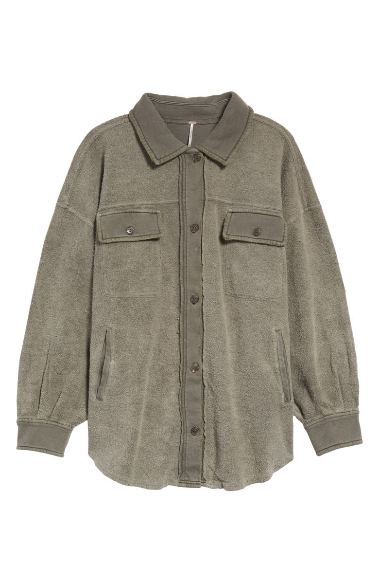 FREE PEOPLE Ruby Jacket, Main, color, DIRTY OLIVE