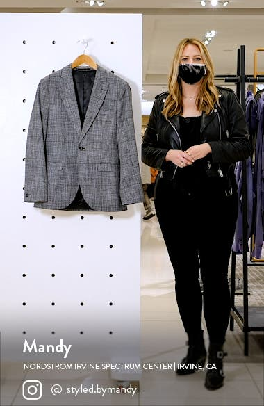 Single Breasted Skinny Fit Blazer, sales video thumbnail