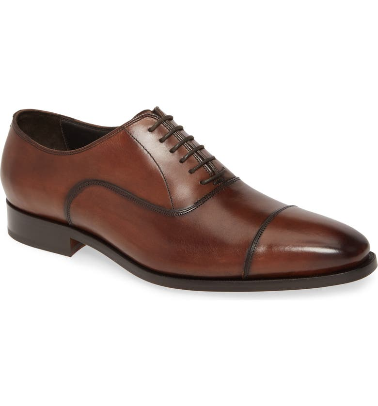 TO BOOT NEW YORK Knoll Cap Toe Oxford, Main, color, 216