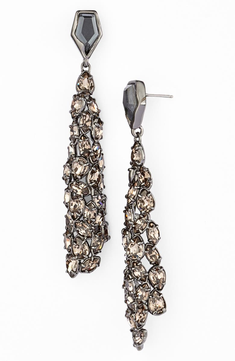 ALEXIS BITTAR 'Miss Havisham' Linear Earrings, Main, color, 040