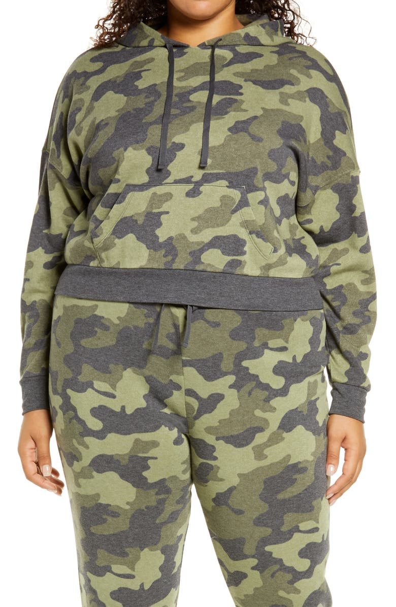 BP. Camouflage Fleece Hoodie, Main, color, 315