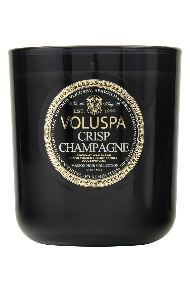 VOLUSPA Maison Noir Crisp Champagne Classic Maison Candle, Main, color, NO COLOR