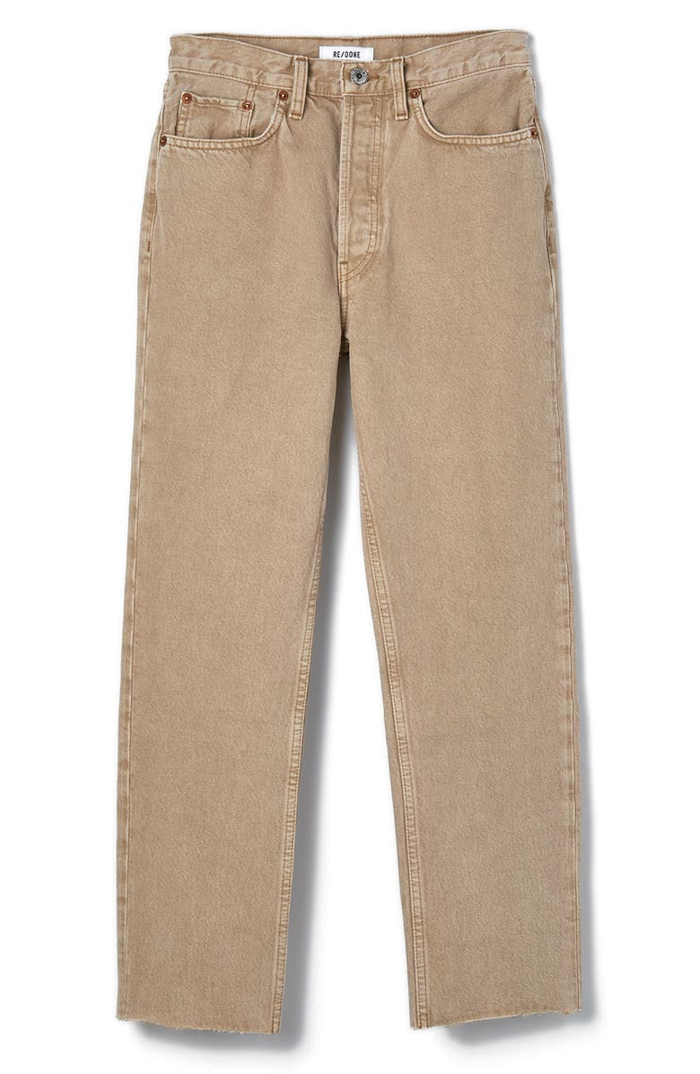 RE/DONE Originals High Waist Stove Pipe Jeans, Main, color, 205