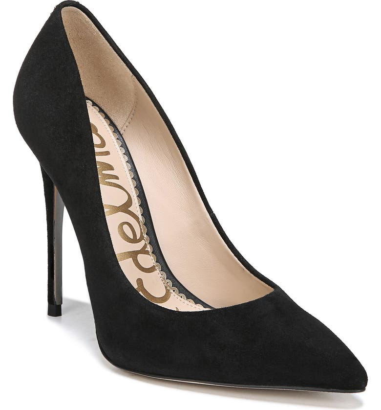 SAM EDELMAN Danna Pointed Toe Pump, Main, color, 003