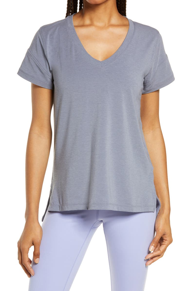 ZELLA Ava T-Shirt, Main, color, GREY FOLKSTONE