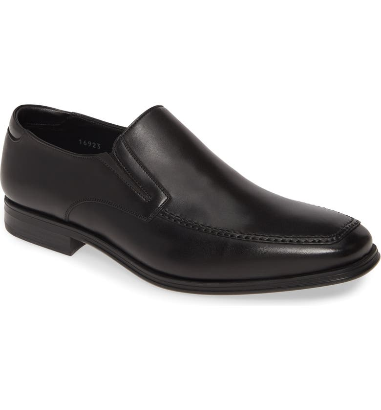 MAGNANNI Madrid Venetian Loafer, Main, color, BLACK
