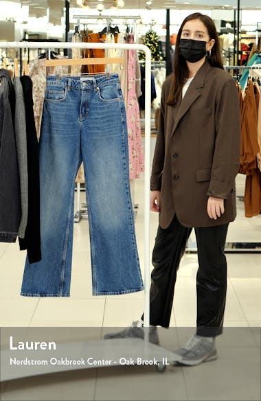 Relaxed Flare Leg Jeans, sales video thumbnail