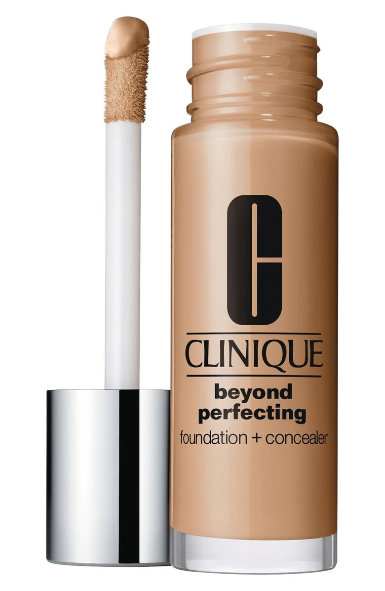 CLINIQUE Beyond Perfecting Foundation + Concealer, Main, color, NUTTY