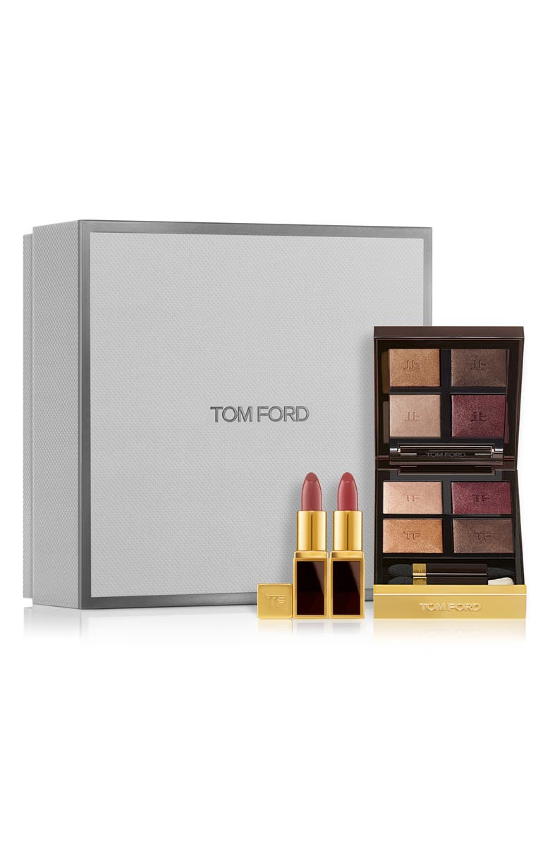TOM FORD Iconic Eyeshadow & Lip Set-$127 Value, Main, color, NO COLOR