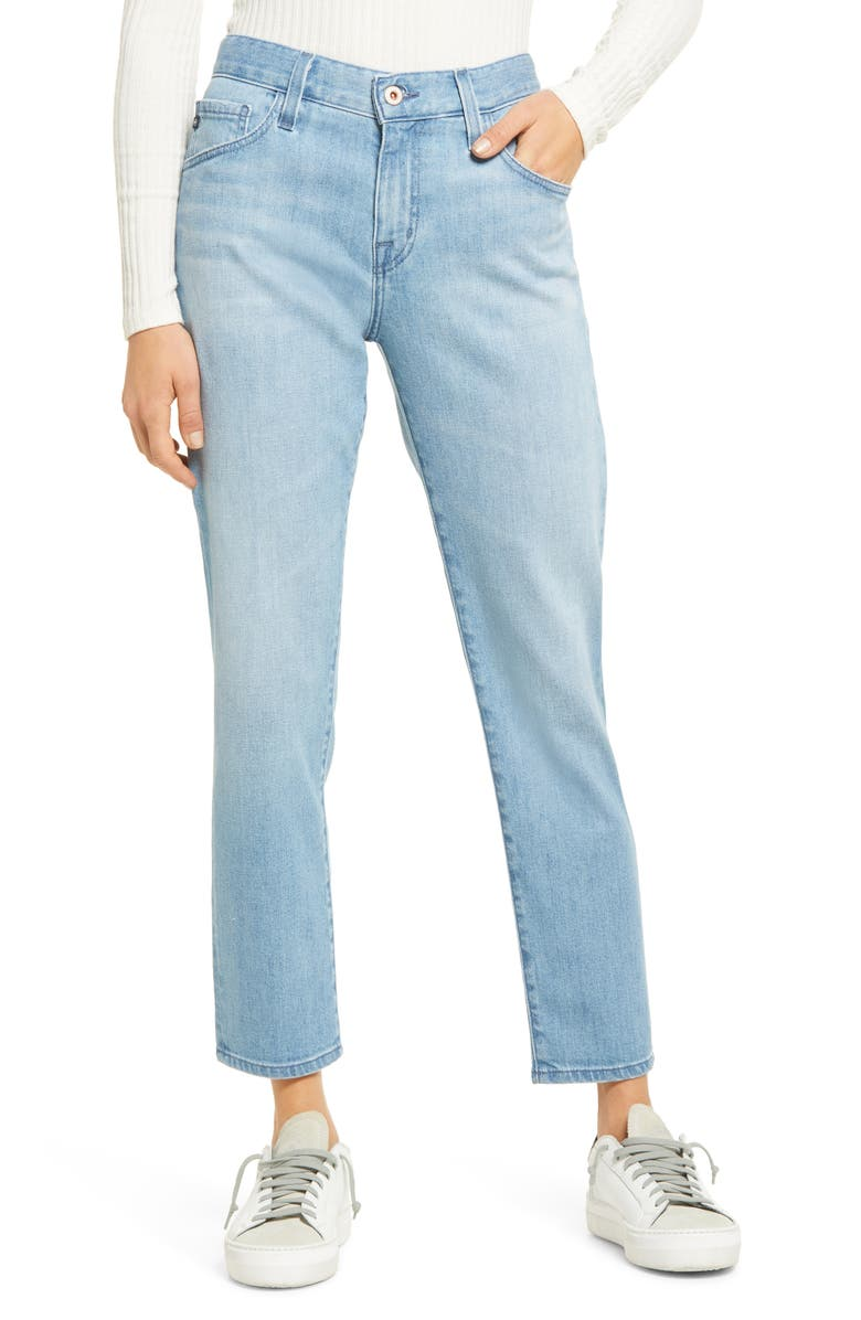 AG The Ex-Boyfriend Slim Jeans, Main, color, ARCHWAY