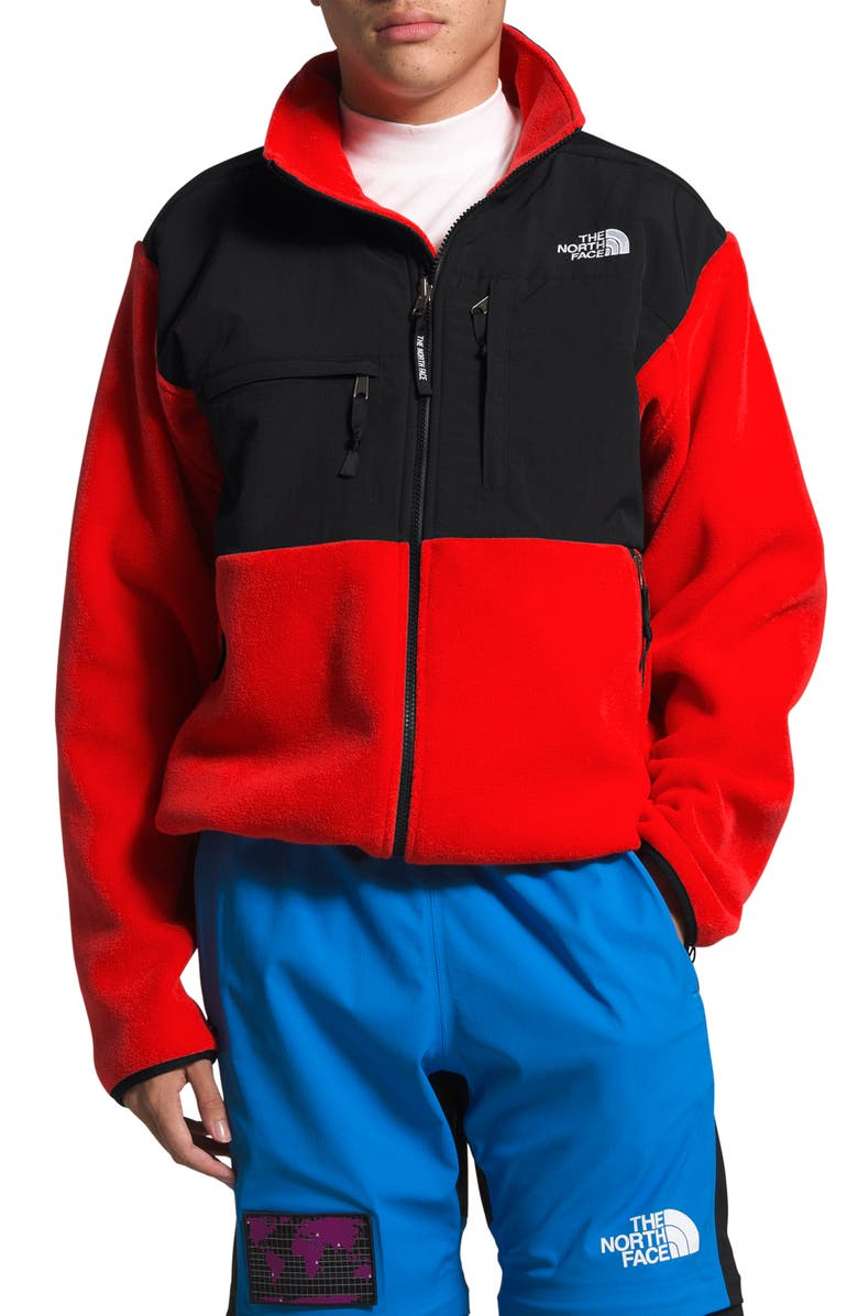 THE NORTH FACE 1995 Retro Denali Recycled Fleece Jacket, Main, color, FIERY RED