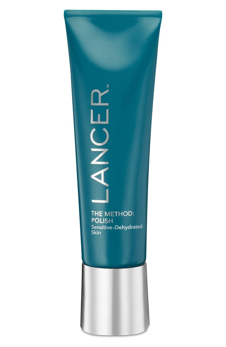 LANCER SKINCARE The Method: Polish Exfoliator for Sensitive to Dehydrated Skin, Main, color, No Color