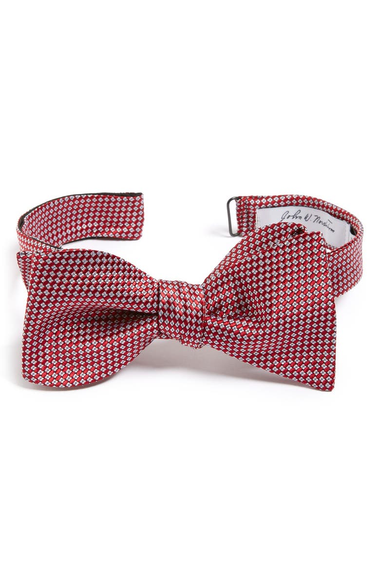 JOHN W. NORDSTROM<SUP>®</SUP> 'Bristol' Dot Silk Bow Tie, Main, color, 600