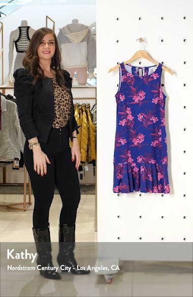 Oasis Blossoms Spa Cover-Up Dress, sales video thumbnail