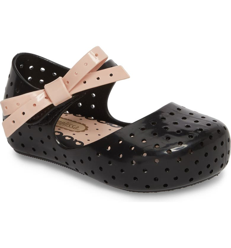 MINI MELISSA Furadinha X Mary Jane Flat, Main, color, 001