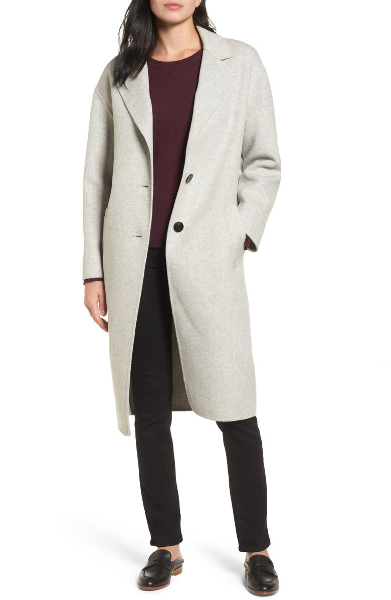LAMARQUE Clean Cocoon Peacoat, Main, color, 050