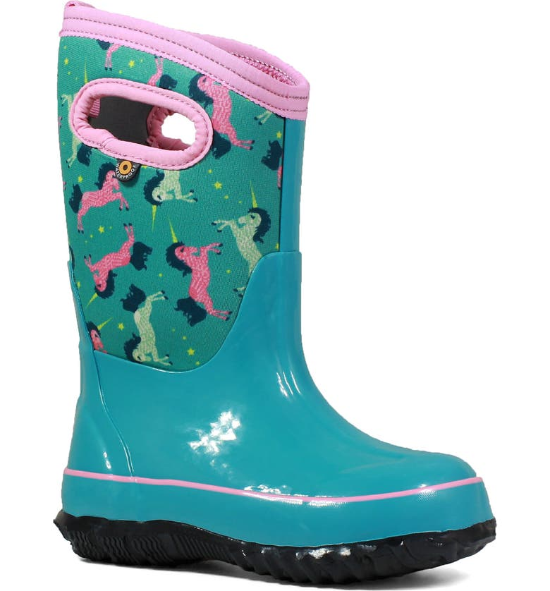BOGS Classic Unicorn Insulated Waterproof Rain Boot, Main, color, 332