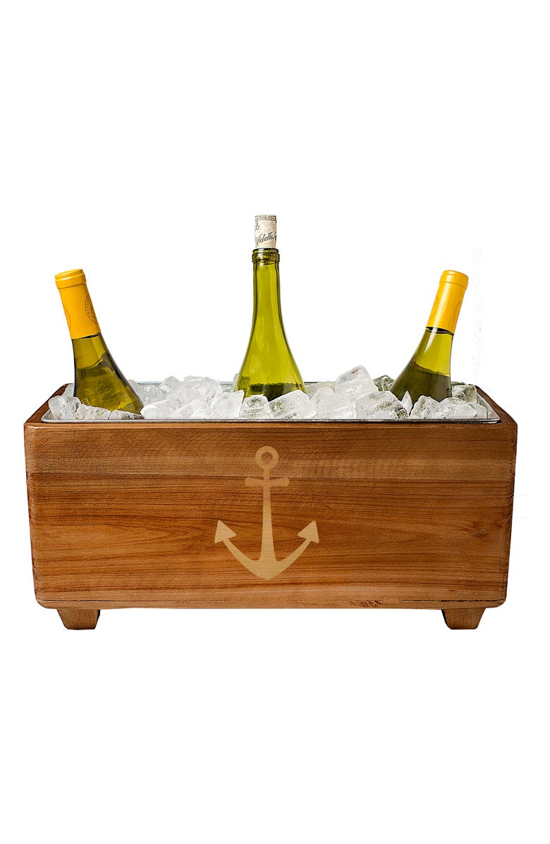 CATHY'S CONCEPTS Wooden Wine Trough, Main, color, 200