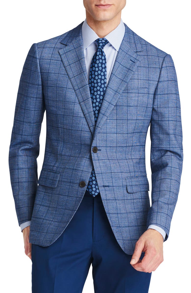 BONOBOS Jetsetter Slim Fit Stretch Wool Blazer, Main, color, 420