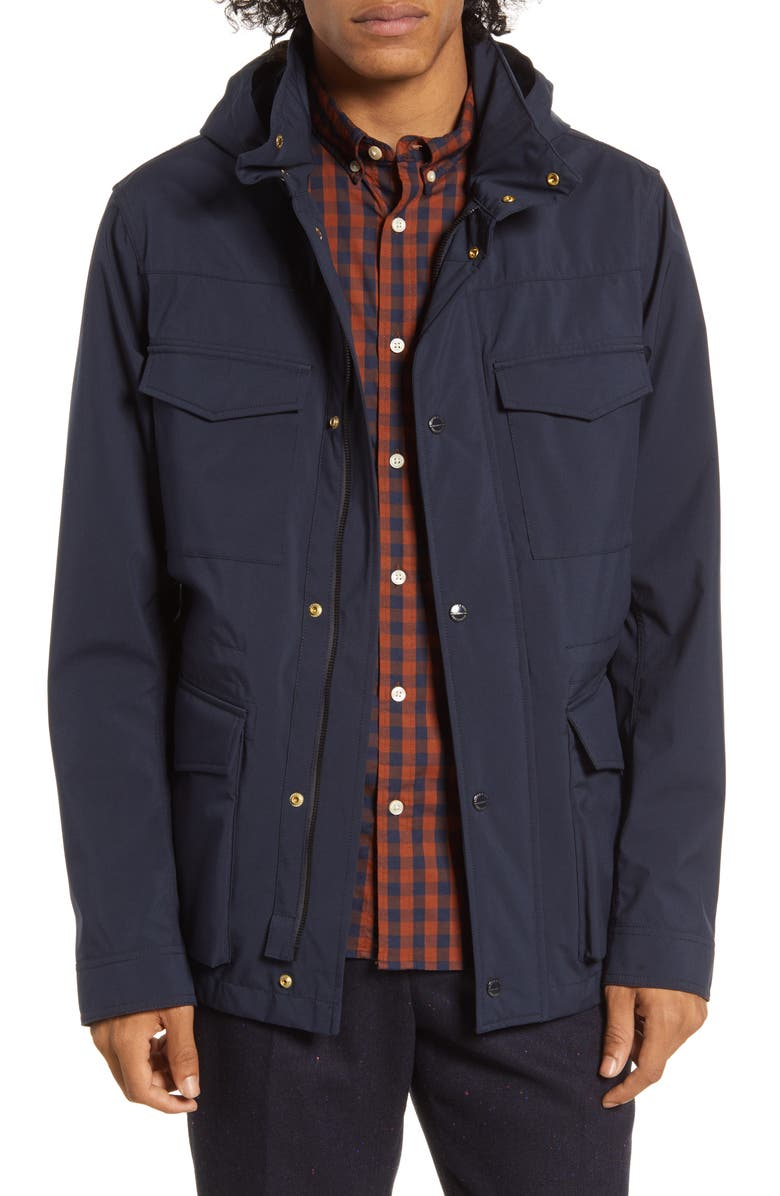 SCOTCH & SODA Technical Regular Fit Field Jacket, Main, color, 401