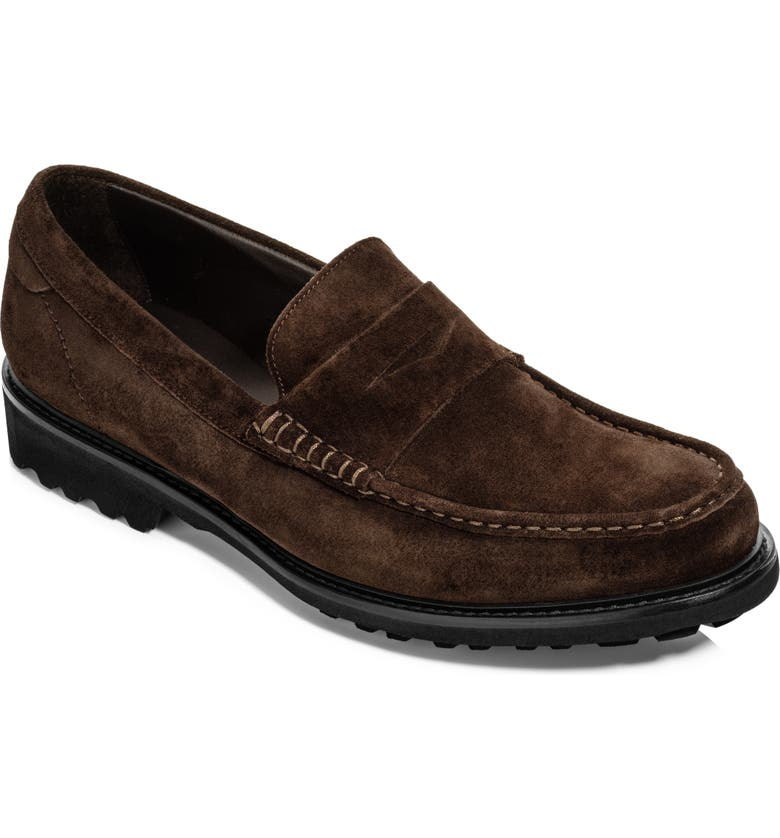 TO BOOT NEW YORK Berle Penny Loafer, Main, color, EBONY