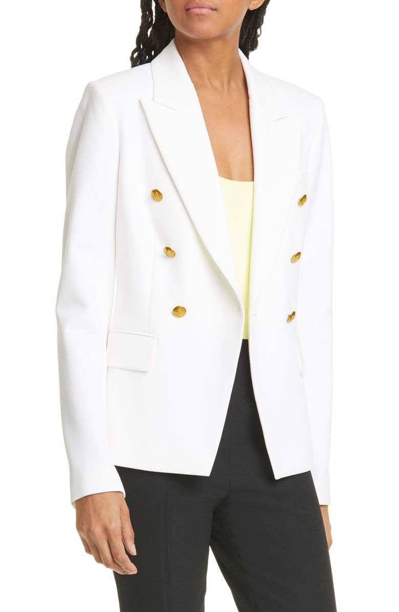 A.L.C. Hastings II Double Breasted Jacket, Main, color, 100