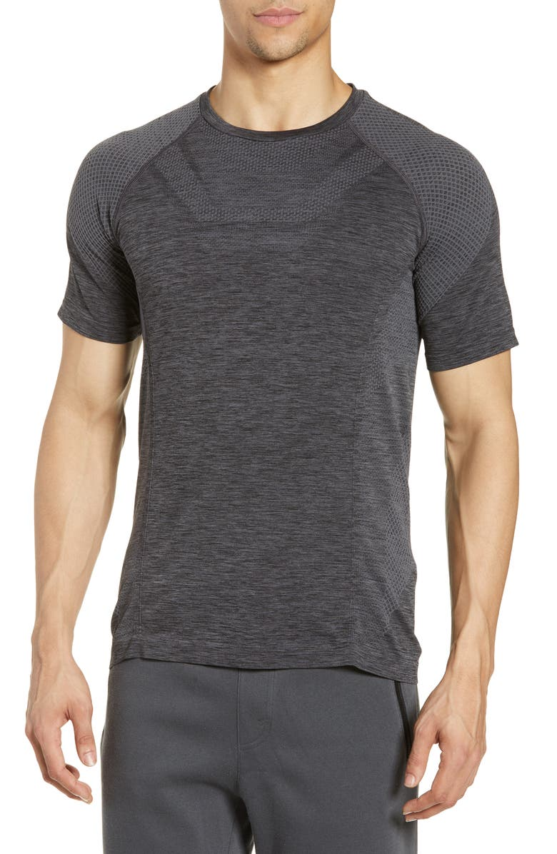 ALO Amplify Seamless Technical T-Shirt, Main, color, 012