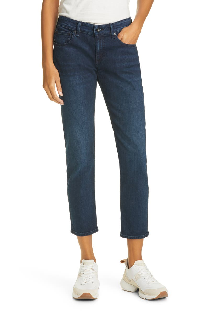 RAG & BONE Dre Slim Boyfriend Jeans, Main, color, BAYVIEW