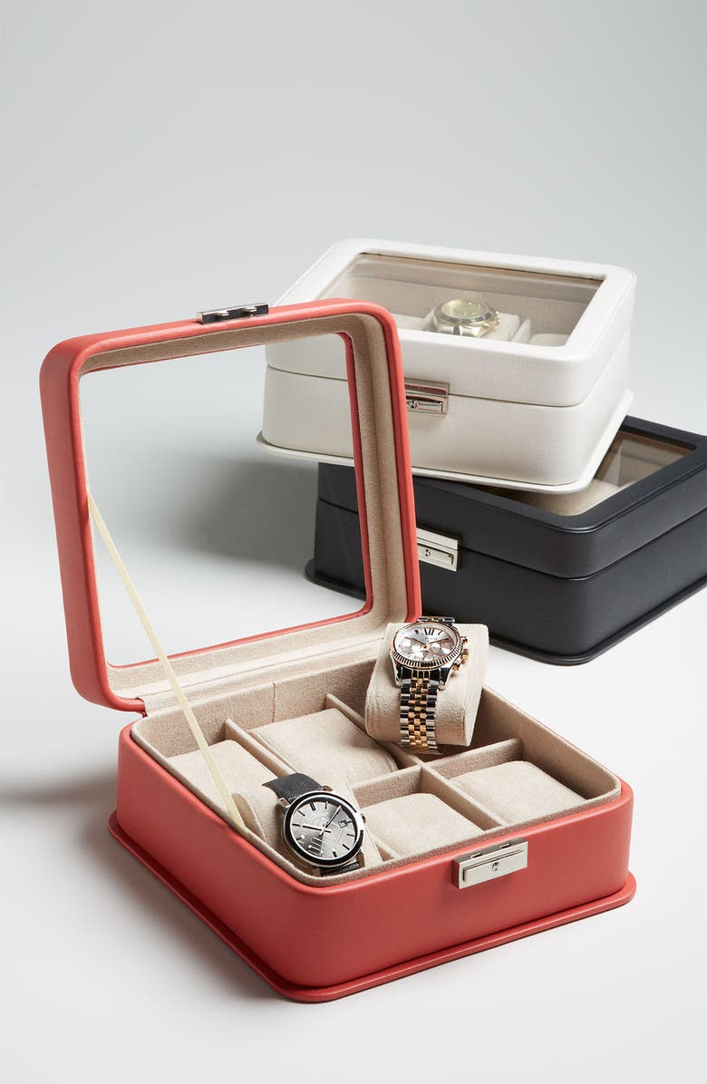 NORDSTROM Six Piece Watch Box, Main, color, 300