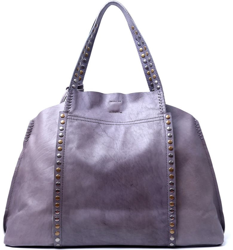OLD TREND Birch Leather Tote Bag, Main, color, HEATHER GREY