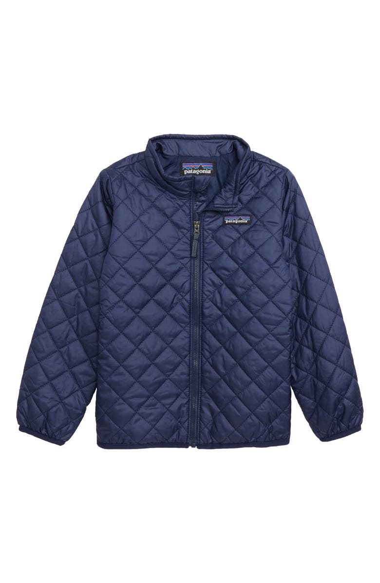PATAGONIA Nano Puff<sup>®</sup> Quilted Water Resistant Jacket, Main, color, CLASSIC NAVY