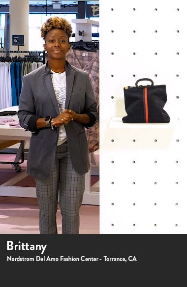 Marcelle Suede Tote Backpack, sales video thumbnail
