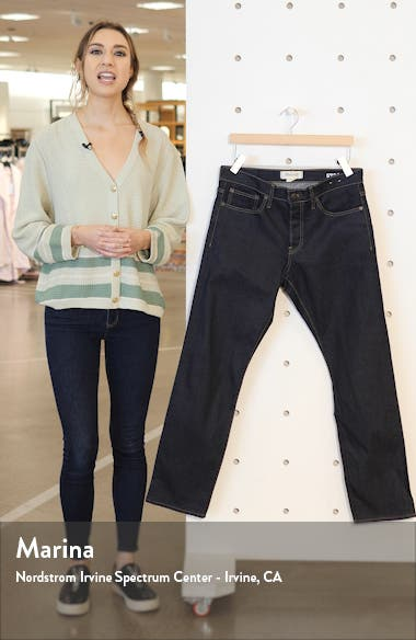 Selvedge Straight Jeans, sales video thumbnail