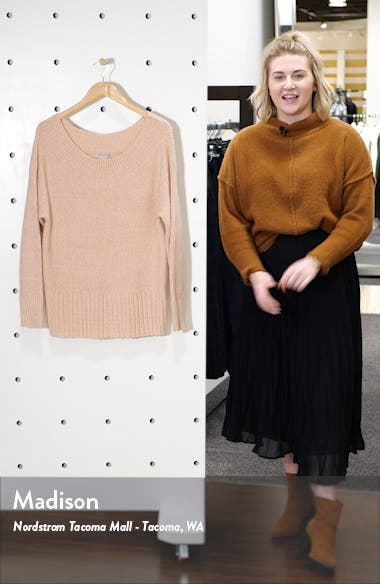 Ribbed Off the Shoulder Sweater, sales video thumbnail