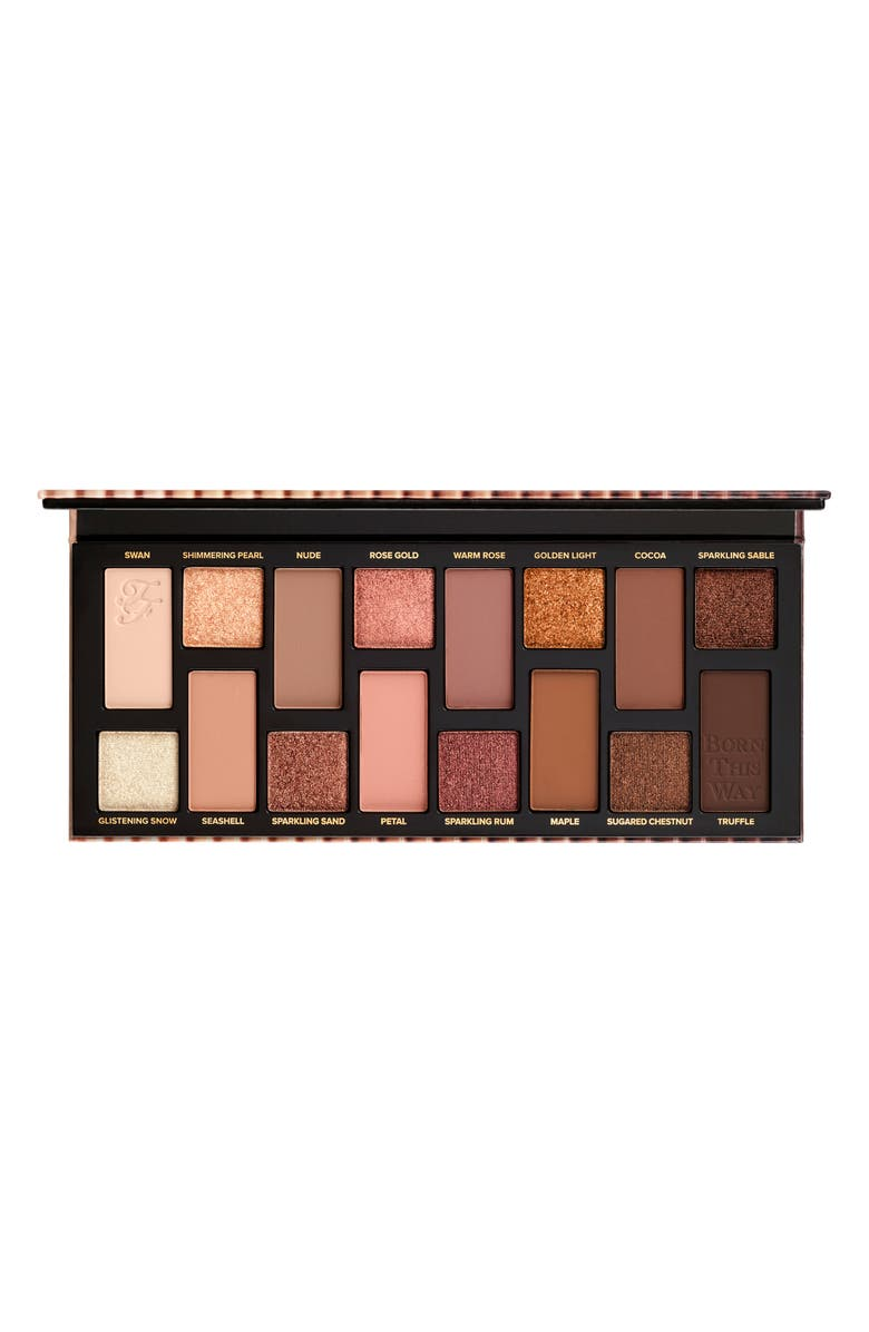 TOO FACED Born This Way The Natural Nudes Eyeshadow Palette, Main, color, NO COLOR