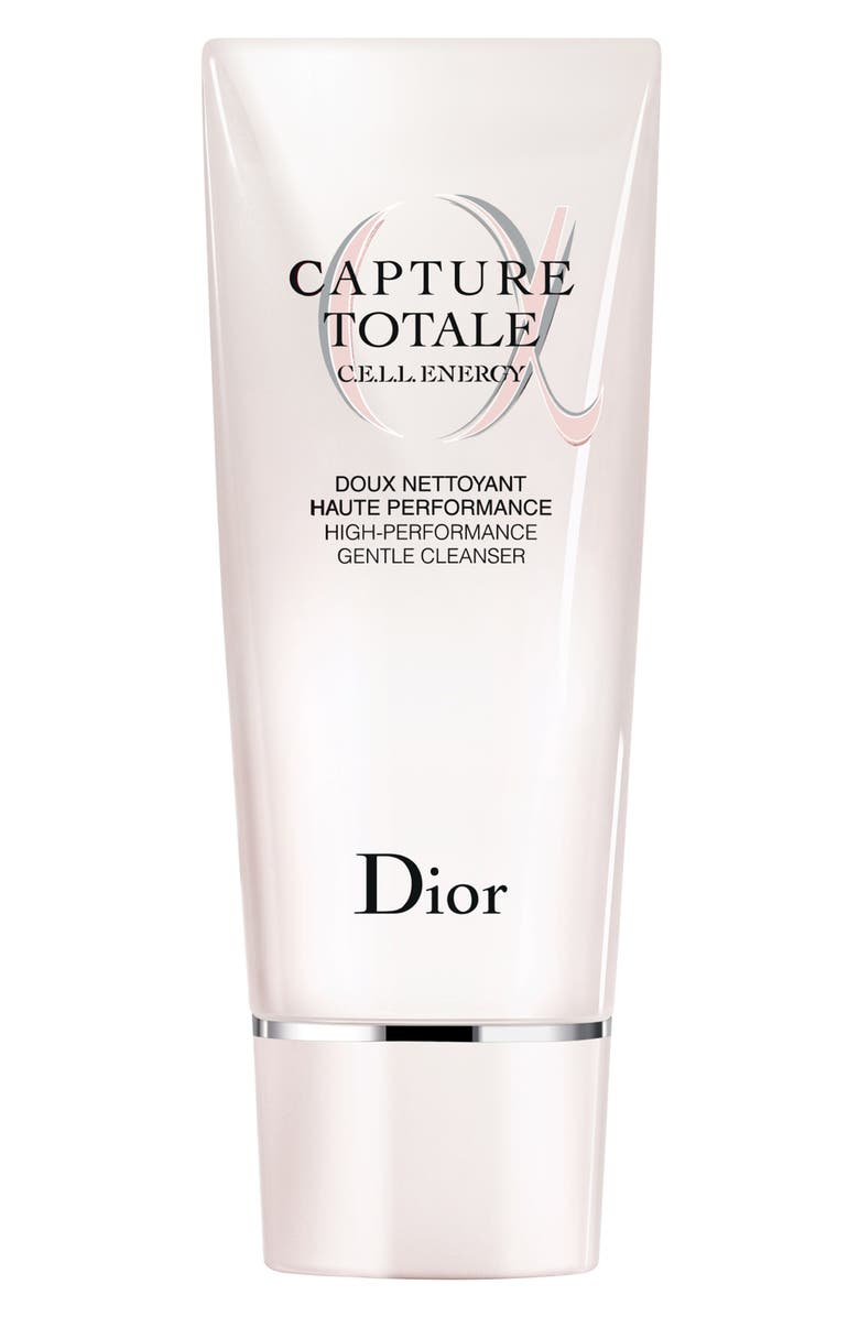 DIOR Capture Totale High Performance Gentle Cleanser, Main, color, NO COLOR