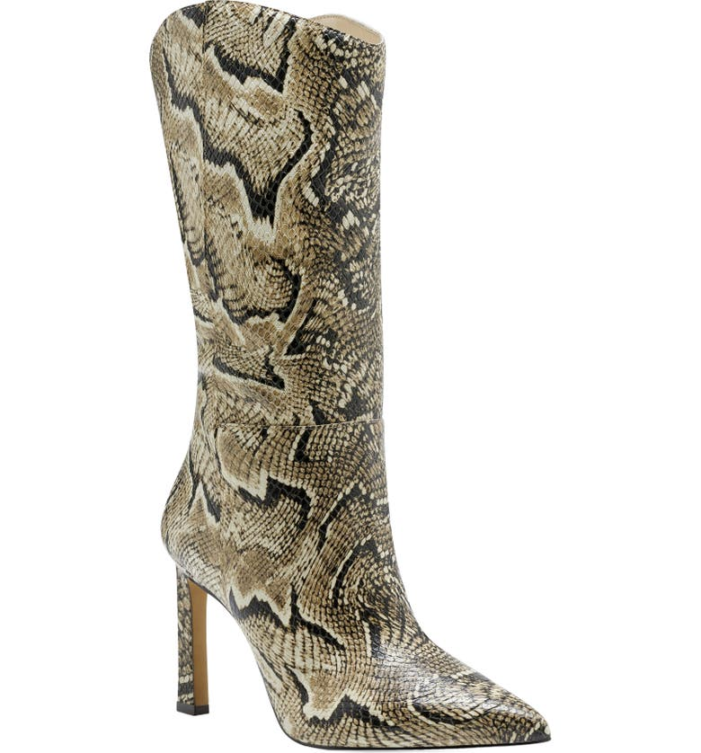 VINCE CAMUTO Senimda Pointed Toe Boot, Main, color, MULTI LEATHER