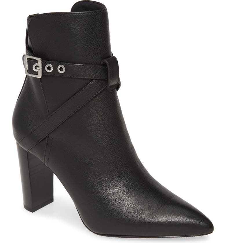 PAIGE Camille Pointed Bootie, Main, color, 001