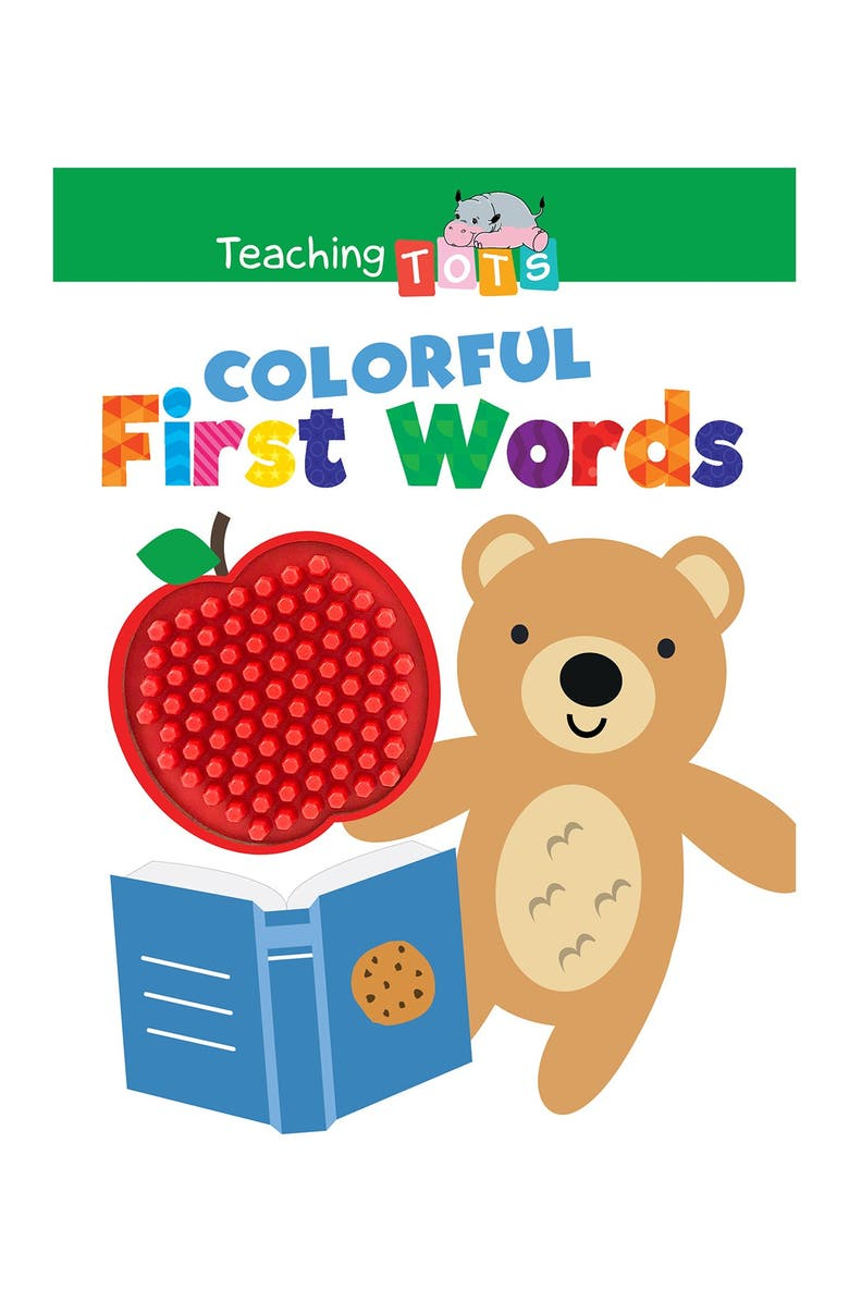 LITTLE HIPPO BOOKS Colorful First Words, Main, color, MULTI