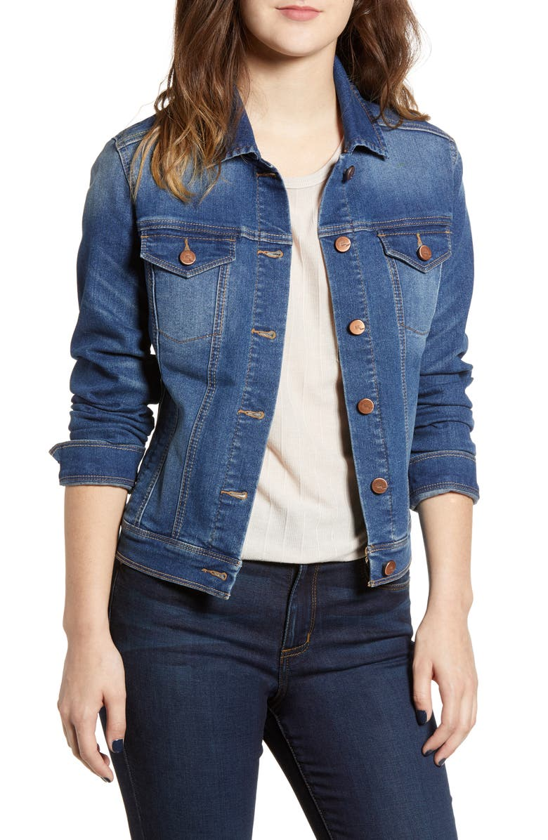 1822 DENIM Heritage Denim Jacket, Main, color, 400