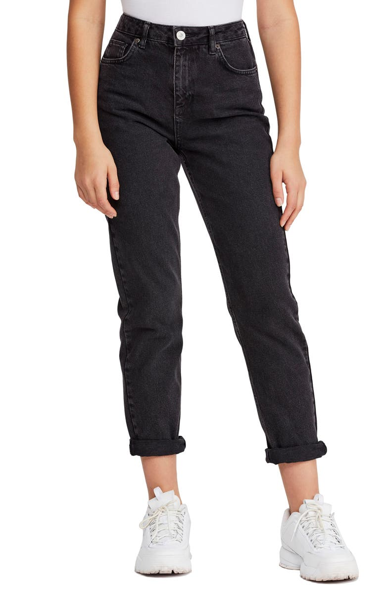 BDG URBAN OUTFITTERS Mom Jeans, Main, color, CARBON