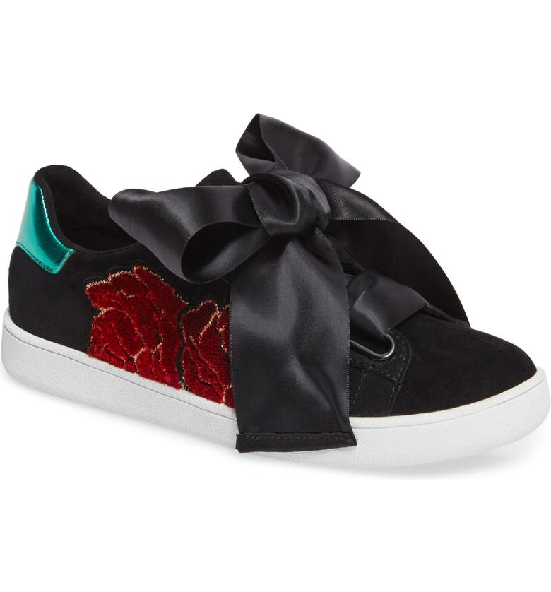JEFFREY CAMPBELL Pabst Low-Top Sneaker, Main, color, 001