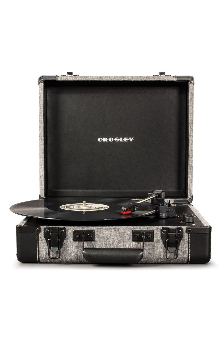 CROSLEY RADIO Executive Bluetooth<sup>®</sup> USB Turntable, Main, color, 020