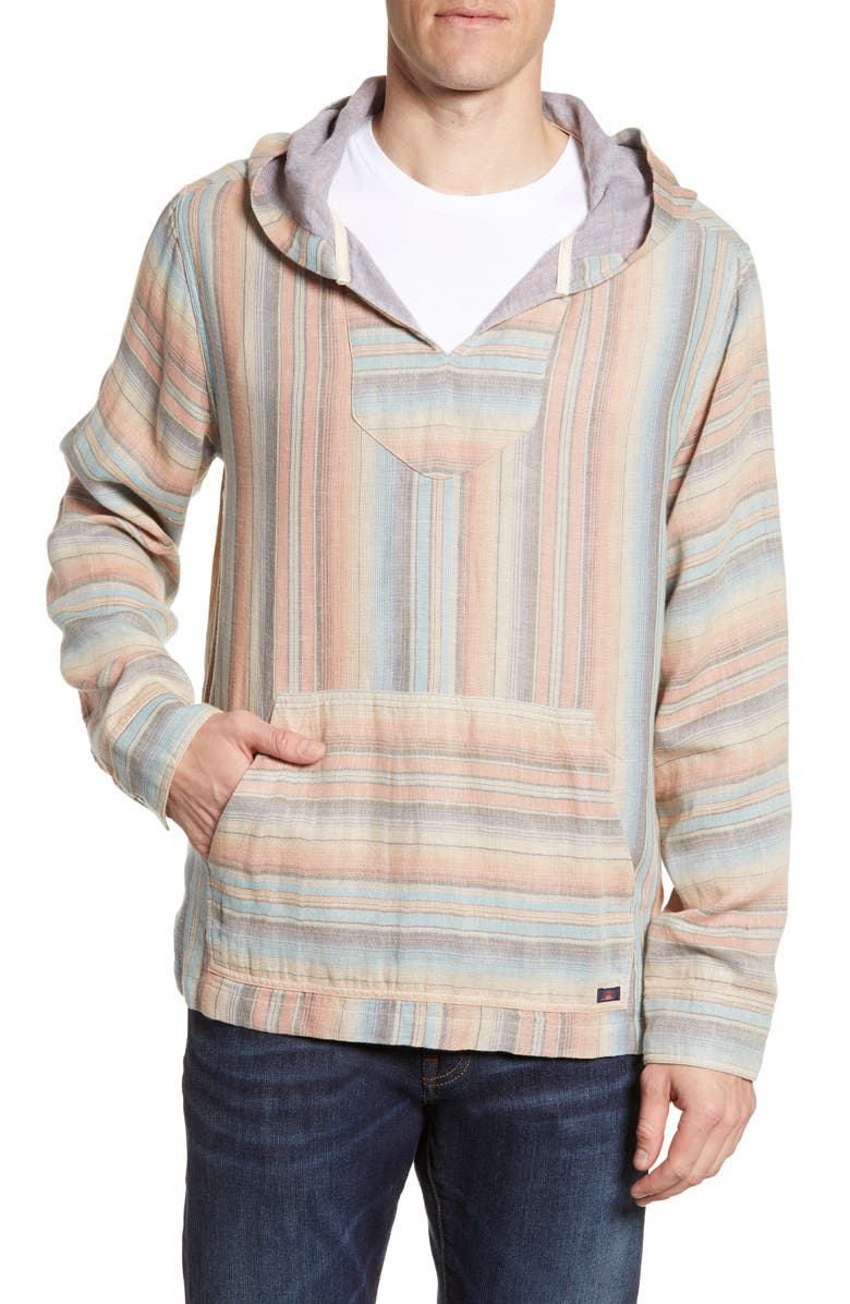 FAHERTY Baja Double Cloth Poncho, Main, color, 403